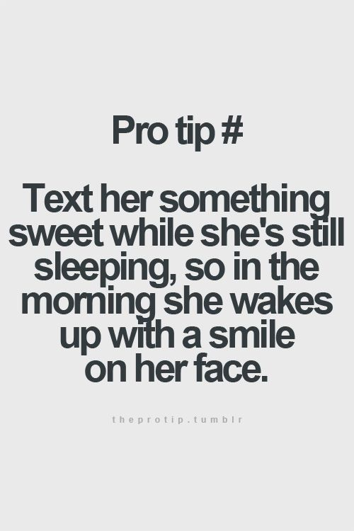Make a girl happy in the morning with a sweet note | Love romance