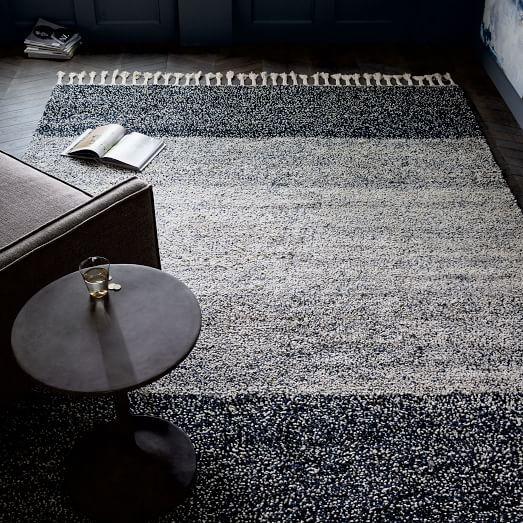 Pixel Shag Rug Rugs Modern Wool Rugs Inside Decor