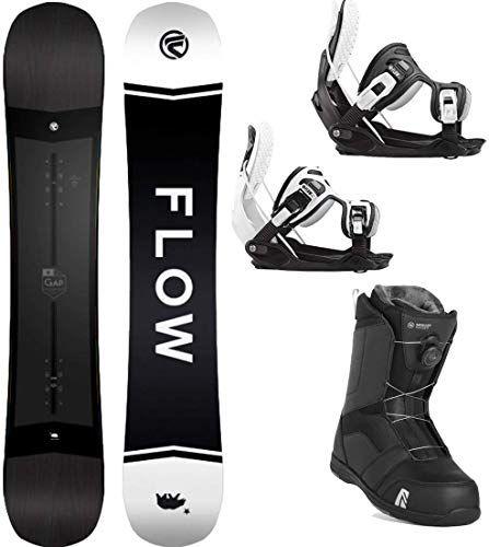 Buy Flow 2020 Gap 159 Wide Men's Complete Snowboard