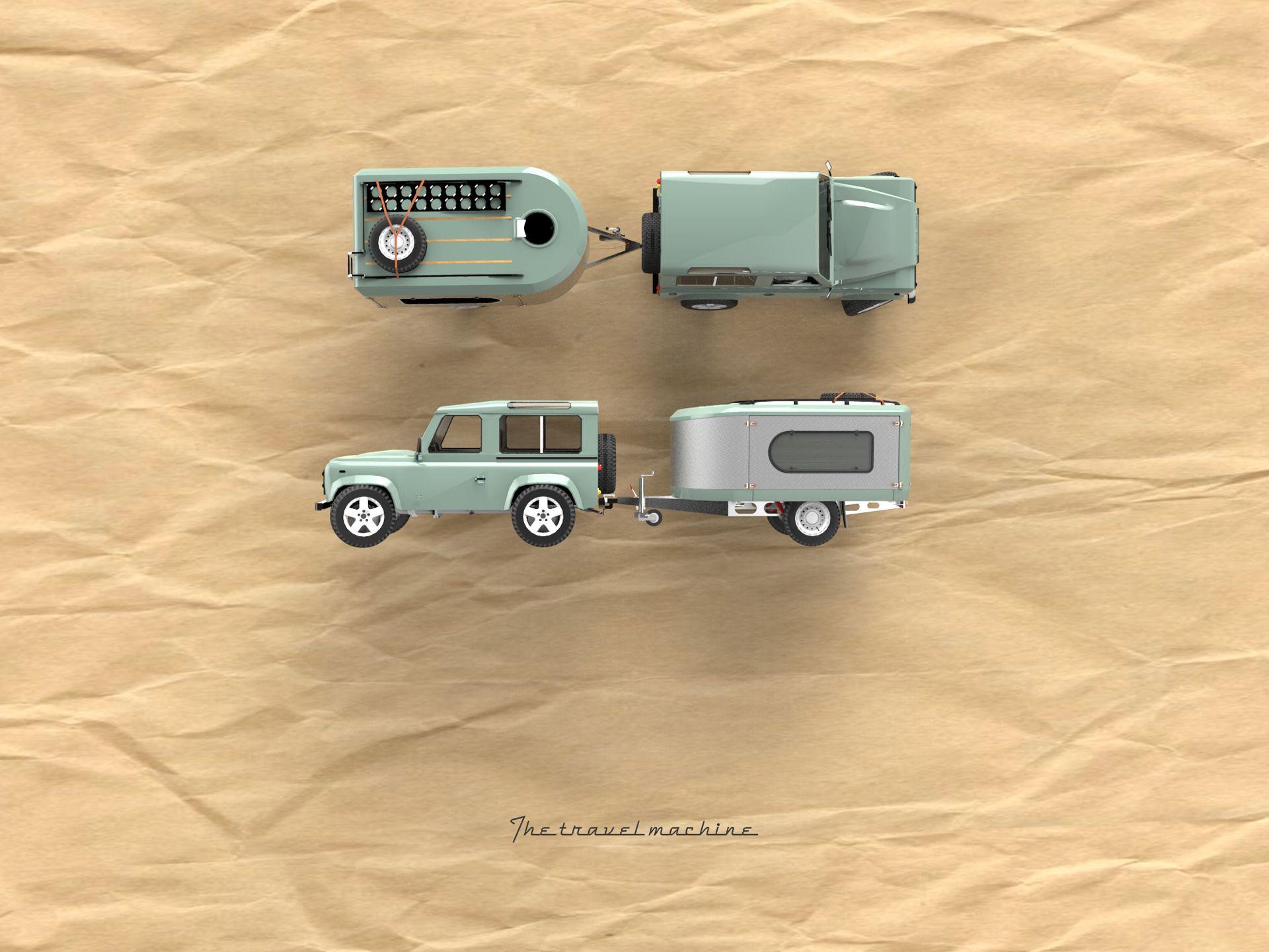 voici la burder exp6 une caravane de luxe spcialement conue
