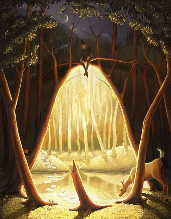 where one wood ends by thejeffster on DeviantArt