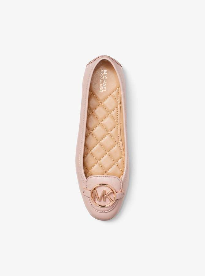 52d53d9aefd7 MICHAEL Michael Kors Lillie Leather Moccasin in 2019