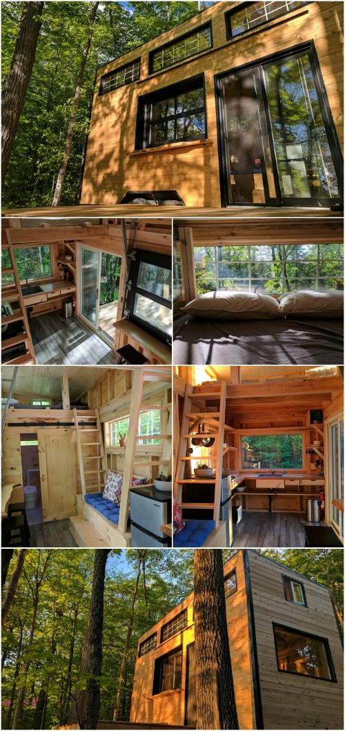 Rent The Auburn Tiny House From Cabinscape In Ontario Tiny