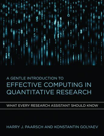 A practical guide to using modern software effectively in quantitativeresearch in the social and natural sciences.This book offers a practical guide to the computational methods at the heartof most modern quantitative research. It will be essential reading forresearch assistants needing hands-on experience; students entering PhDprograms in business, economics, and other social or natural sciences; andthose seeking quantitative jobs in industry. No background in computer scienceis assumed; a lear