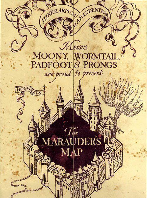 The Marauder S Map Harry Potter Harry Potter Comics Harry Potter Jokes Harry Potter Series