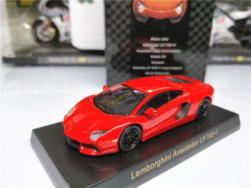 Awesome Amazing Kyosho 1:64 Lamborghini Aventador LP 700-4 Red ...
