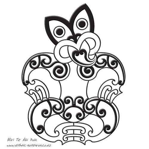 8fe4b2065 Maori Art - Hei Tiki Maori New Zealand ♧️Fosterginger.Pinterest.Com♤️