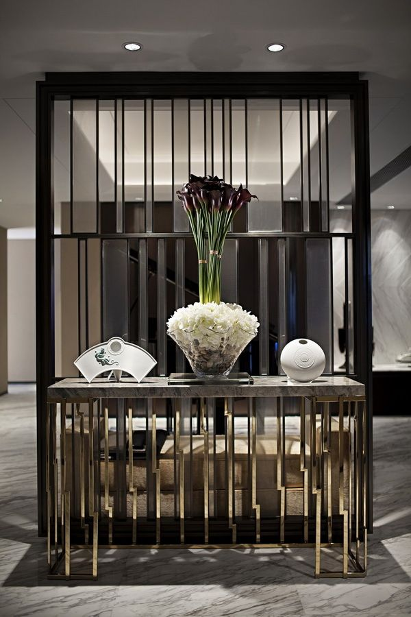 Pin By Roland Pallagi On Walls Screens Modern Partition Partition Design House Design Beautiful foyer living room divider