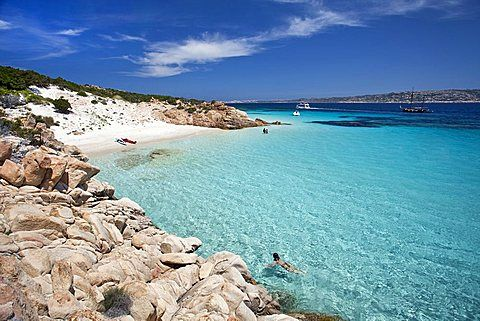 Cala Ciaccaro, Cala Soraia, Isola di Spargi island, Arcipelago della Maddalena, La Maddalena (OT), Sardinia, Italy, Europe