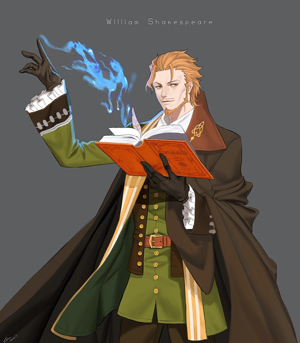 (3) Twitter Dungeons and dragons characters, Anime, Fate
