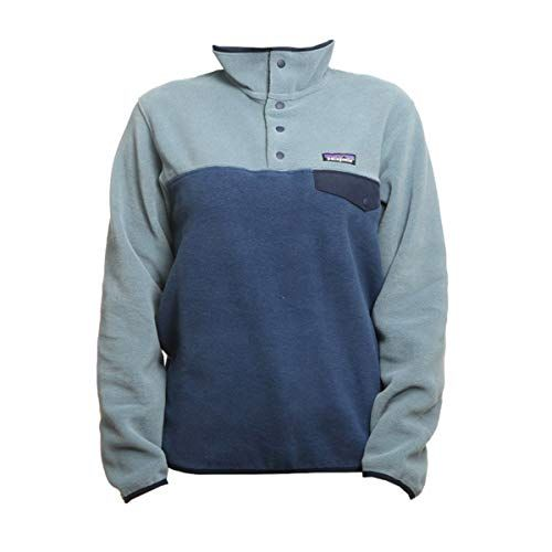 cheap for discount 7e734 bc8cb Patagonia Synchilla Snap-T Pullover Stone Blue 14 | Women's ...