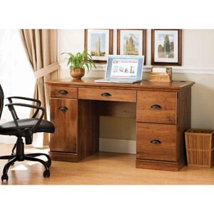 Better Homes And Gardens Desk With Optional Office Chair Home Office Furniture Home Office Computer Desk Desk With File Drawer