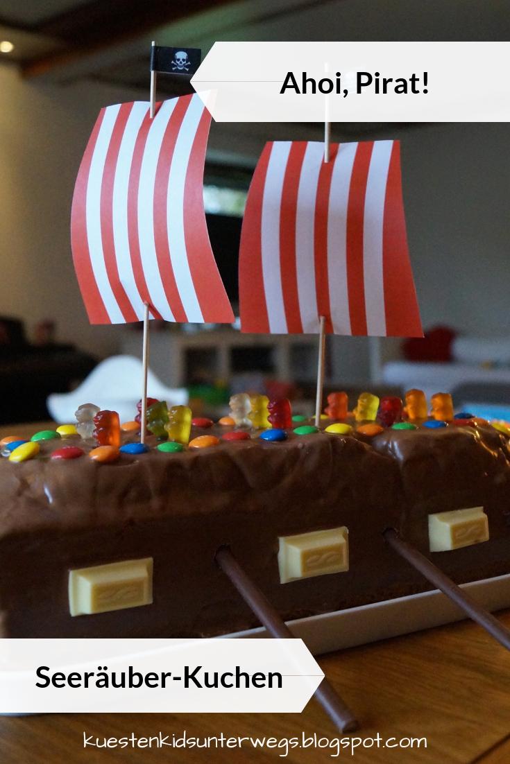 Ahoi Pirat! Seeräuber-Kuchen backen   Piratenschiff kuchen