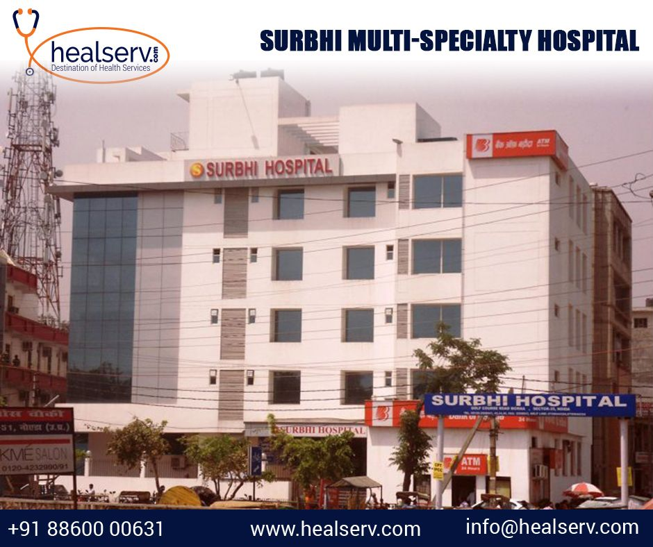 Surbhi Hospital in Noida Sector 35 is best MultiSpecialty
