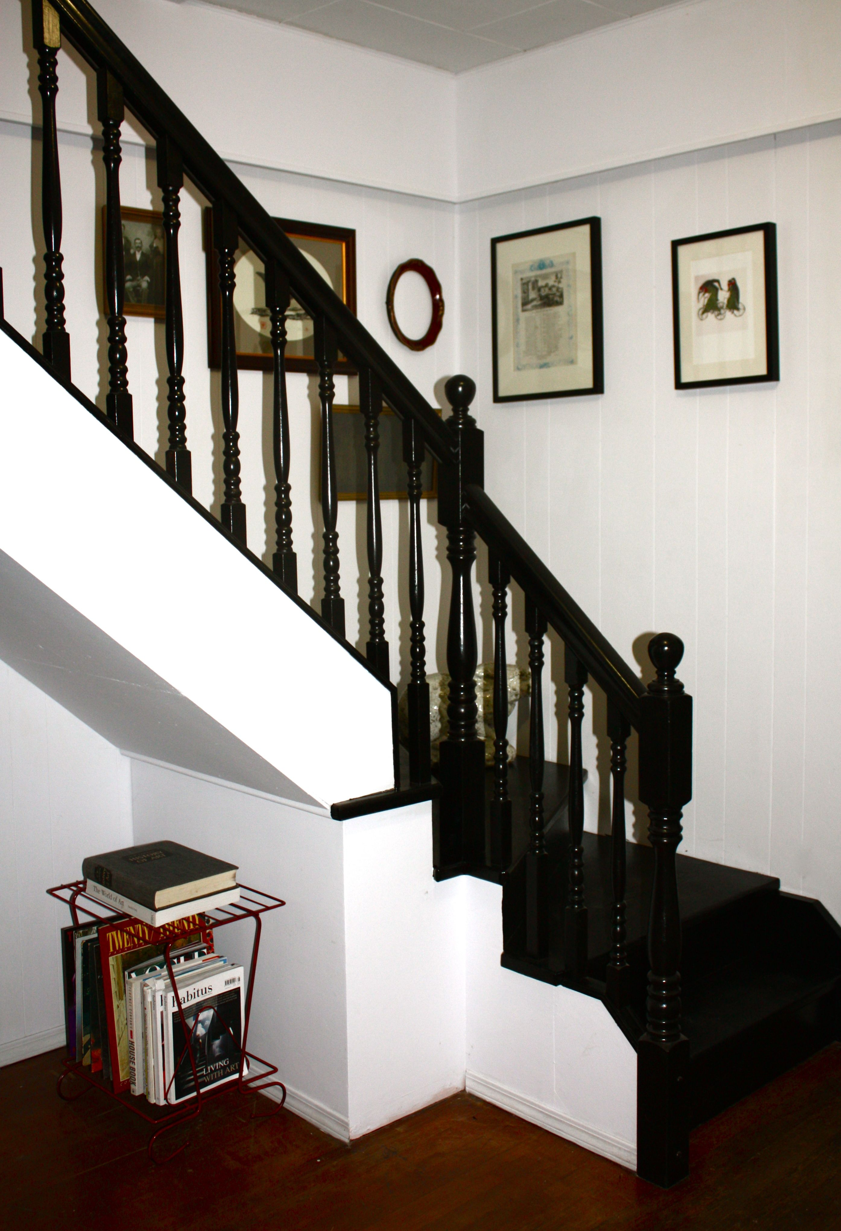 How To Paint A Staircase Black