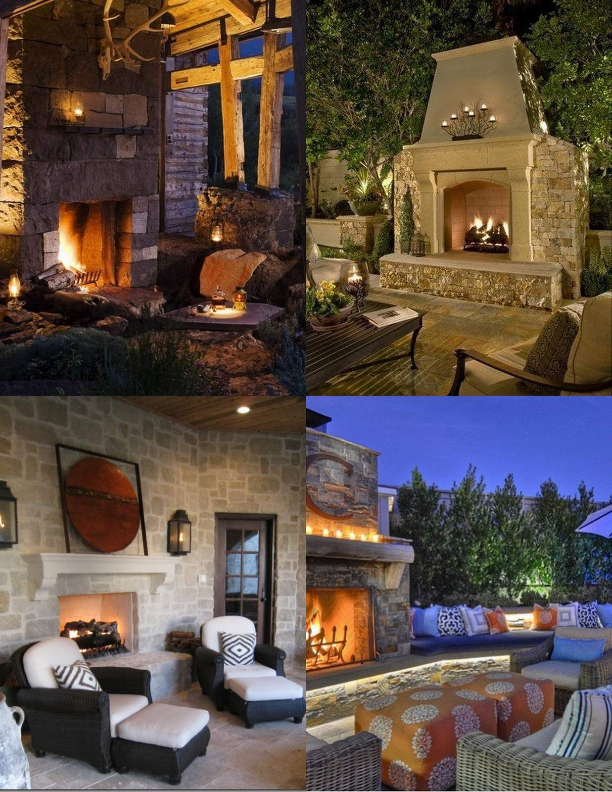 Chimeneas Exteriores Amazing Outdoor Fireplace Designs Part 2 Style Estate