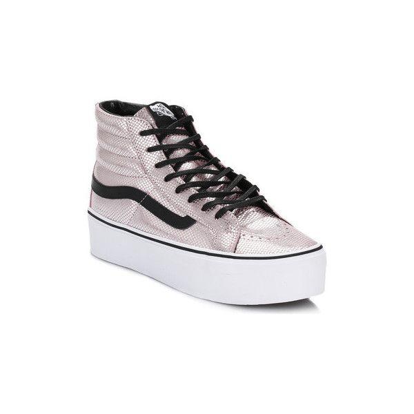 vans women's sk8 hi platform shoe