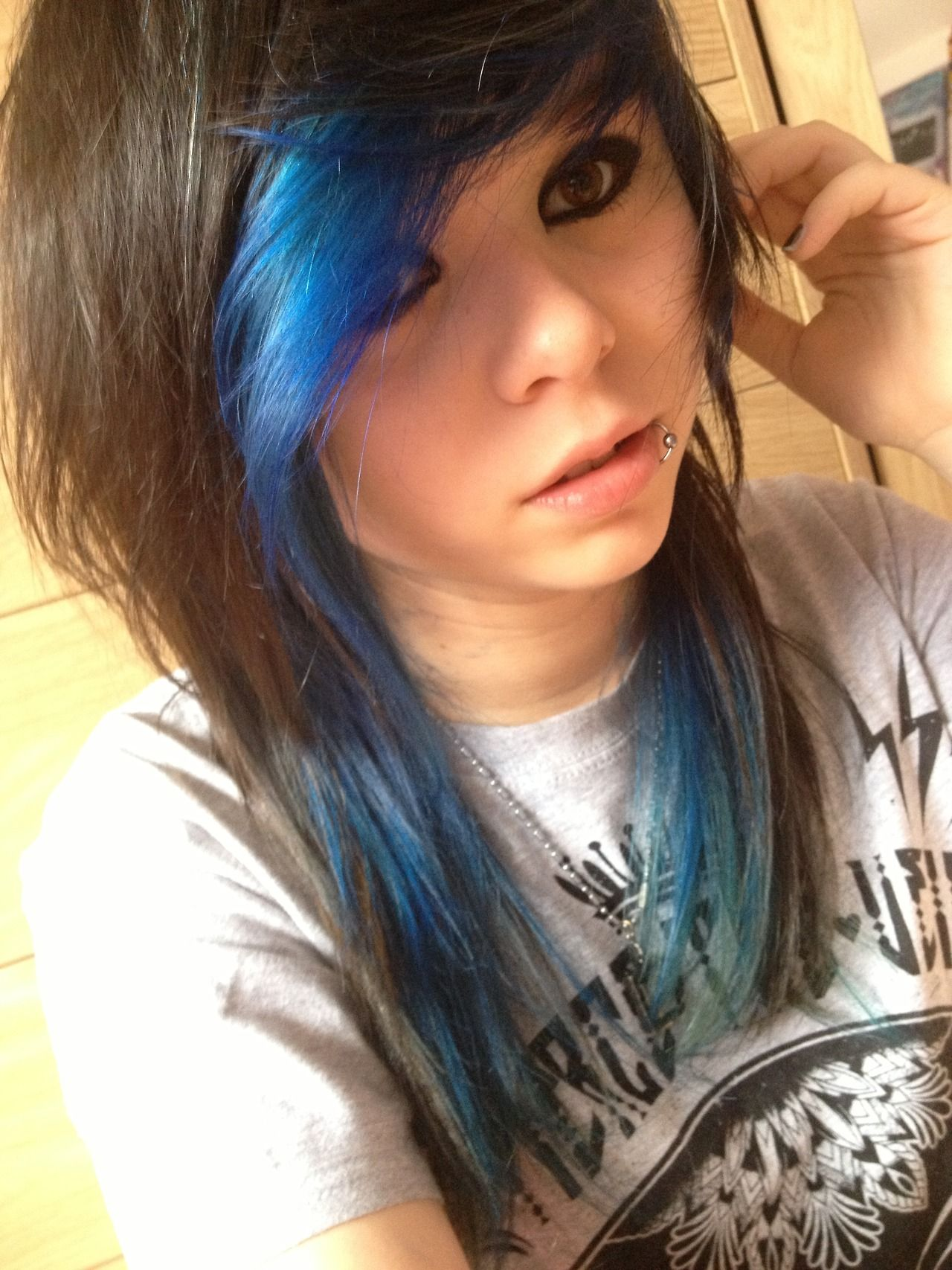 Scene hair scene hair pinterest scene hair blue streaks and scene