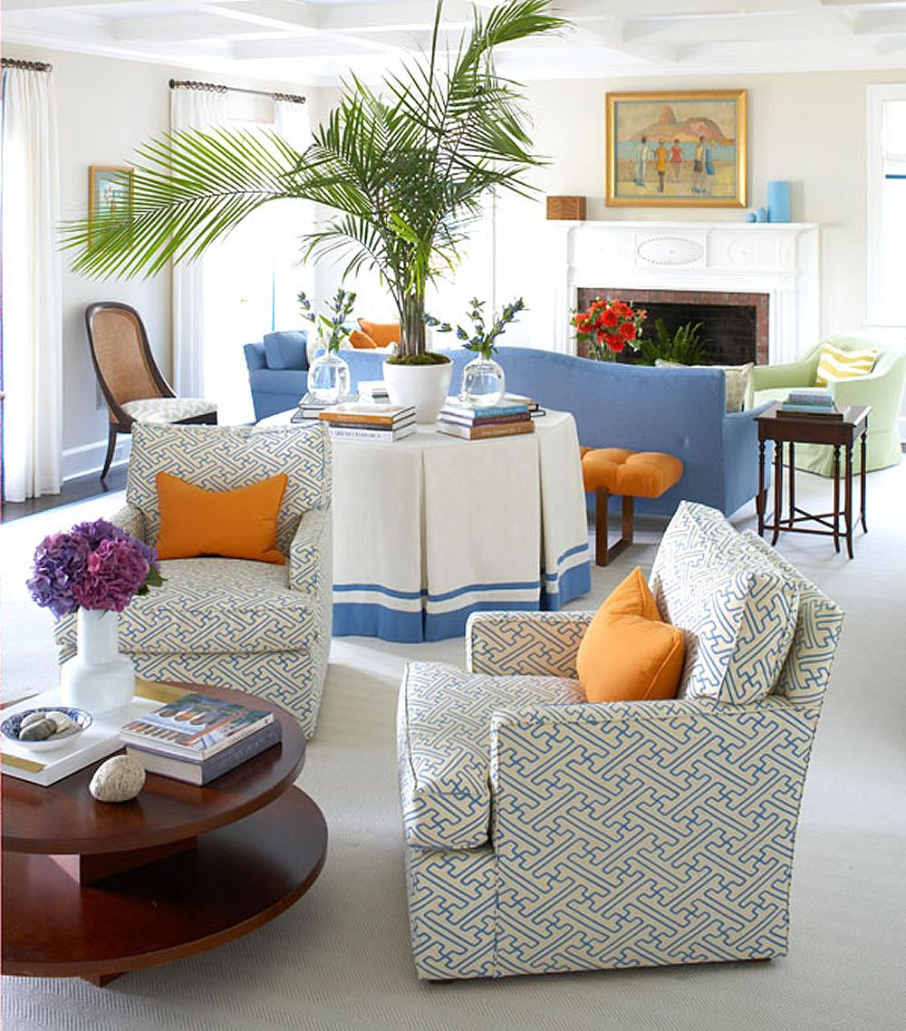 Alan Campbell Saya Gata Dhairs By Lynn Morgan Design Living Room