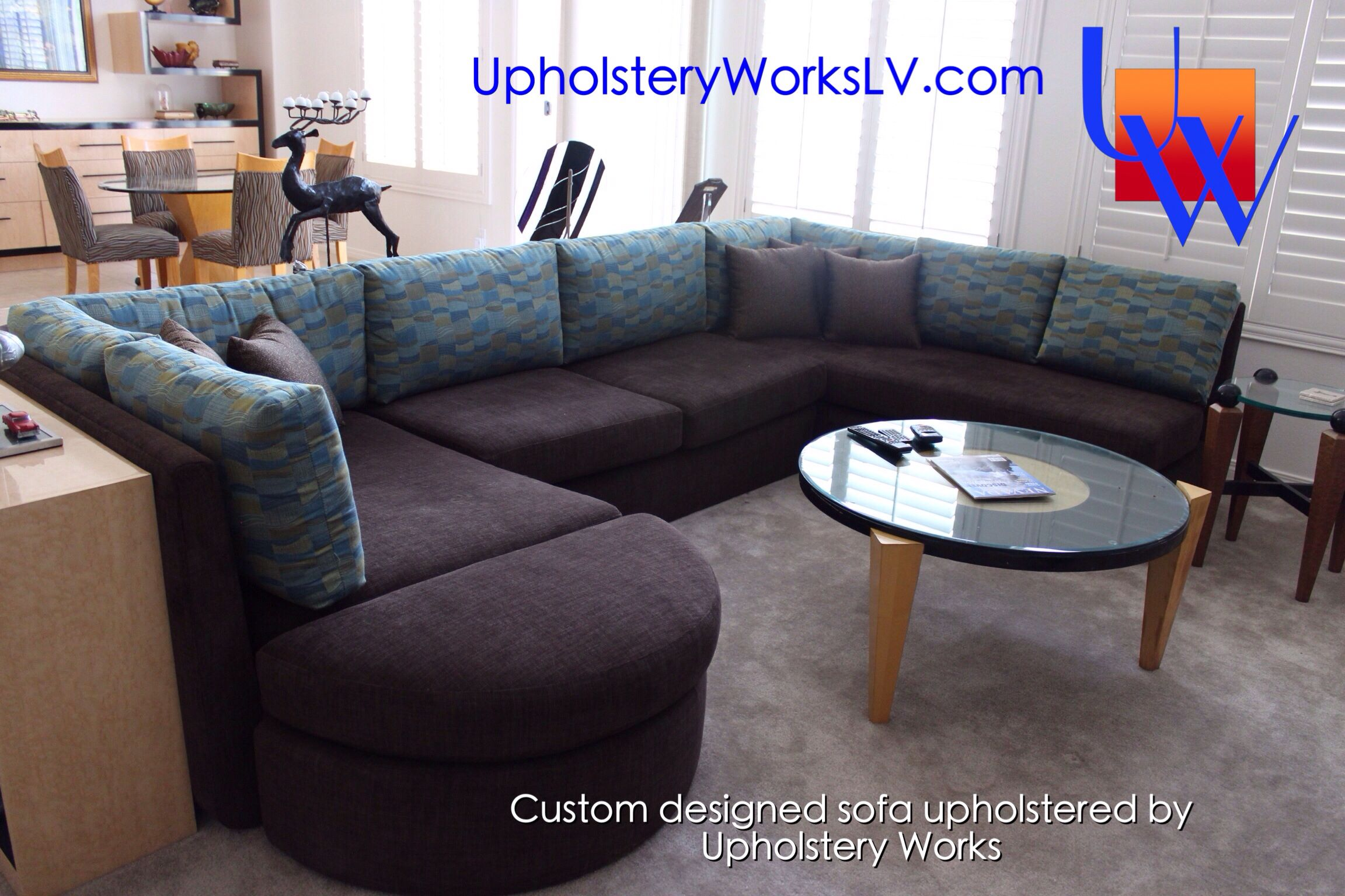 Sectional Sofa Couch Dining Room Chairs Furniture Upholstery Custom Las Vegas Design Home Decor Homemade