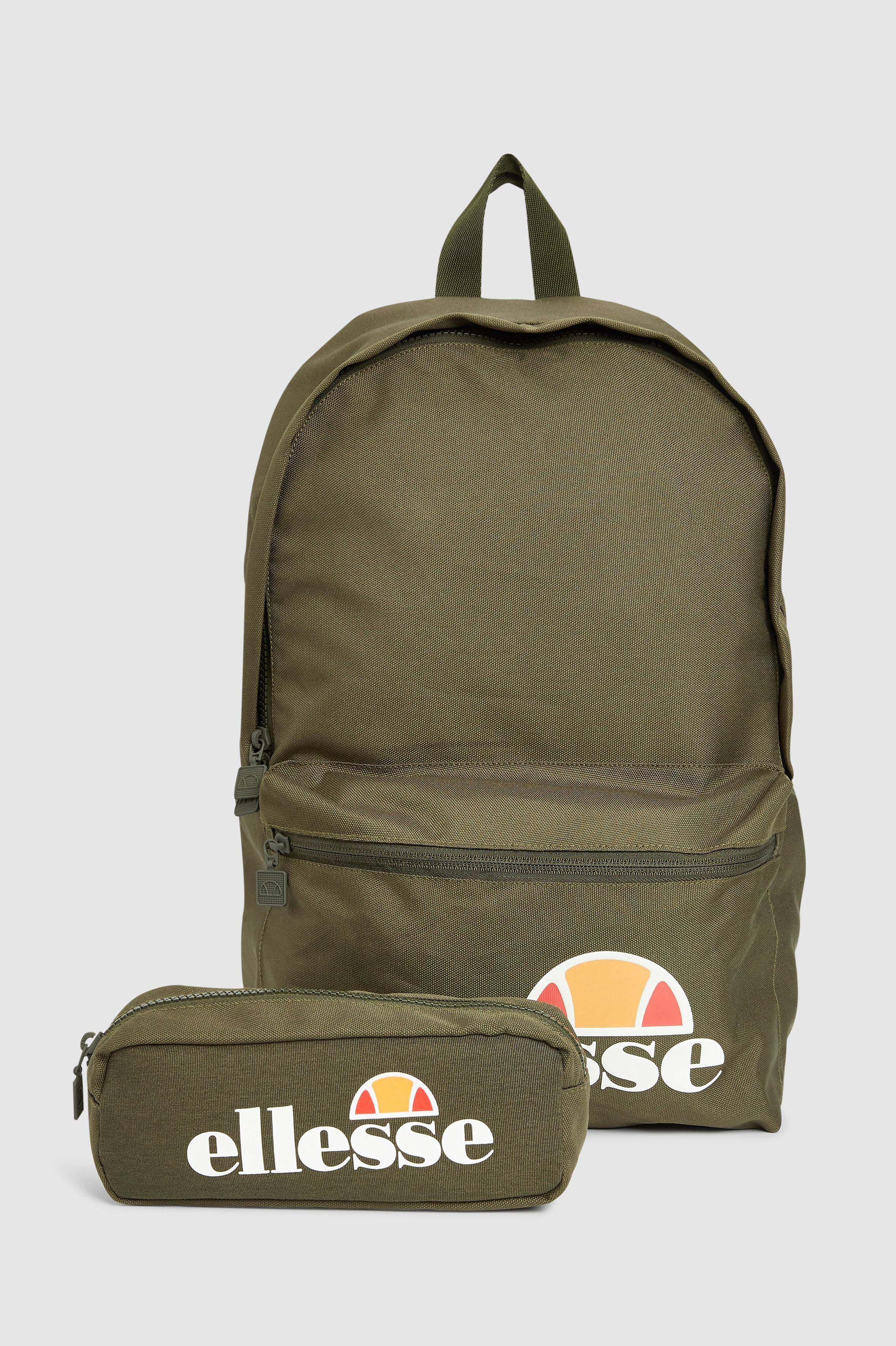 7f3e9198ca Mens Ellesse Heritage Rolby Backpack - Green