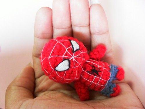 spiderman #amigurumi #crochet | Puntadas | Pinterest | Handarbeiten ...