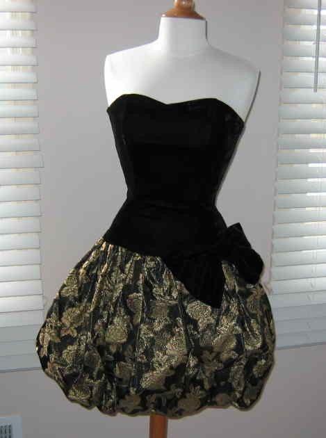 Bubble Skirt Dress