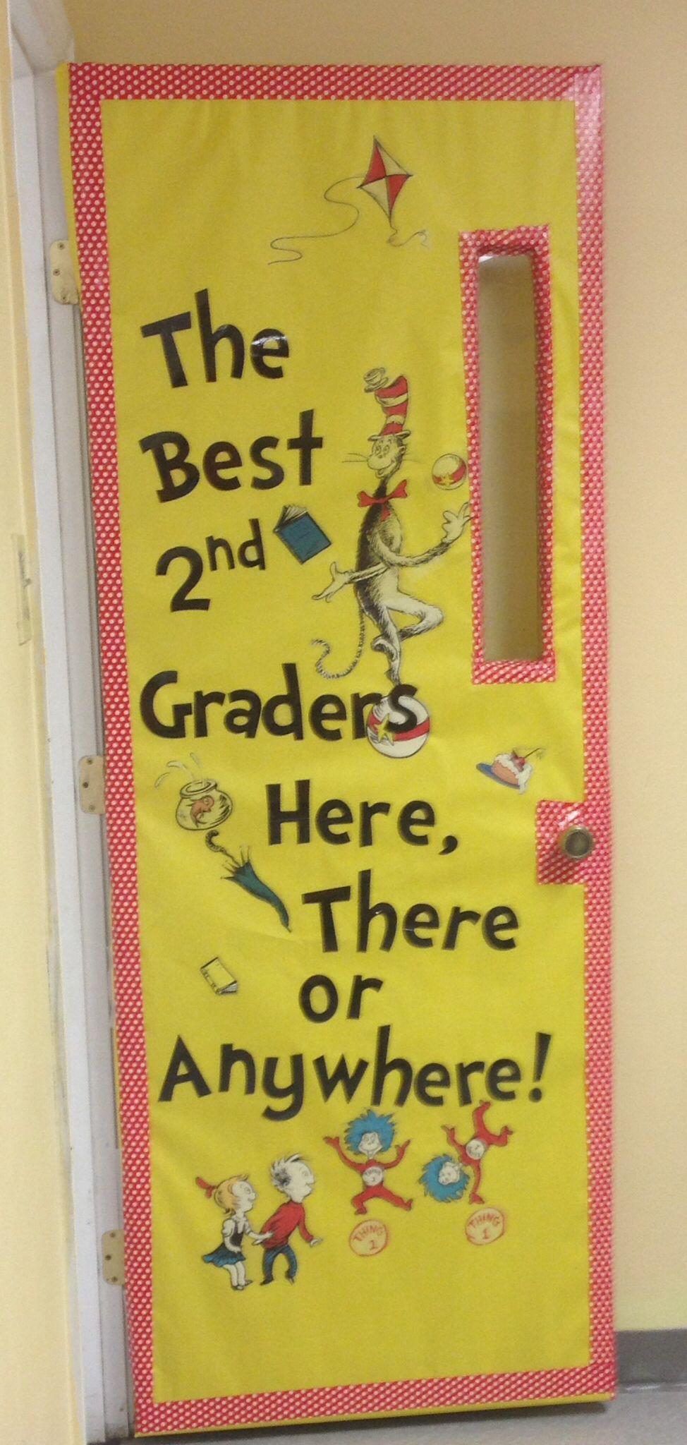 Original Dr. Seuss classroom door I made! … | Pinteres…