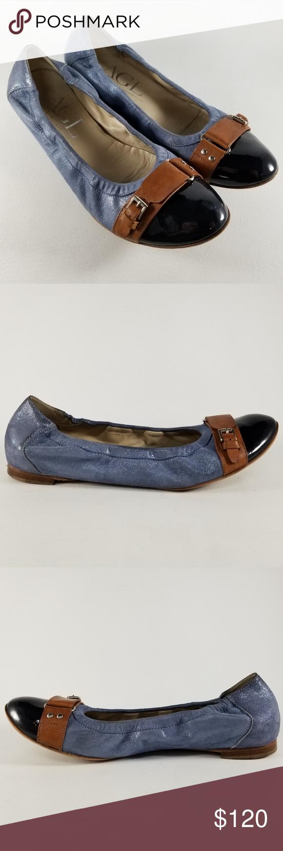 Attilio Giusti Leombruni Shoes   Agl Ballet Flats 38 2