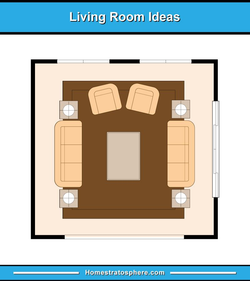 Best 13 Living Room Furniture Layout Examples Floor Plan 400 x 300