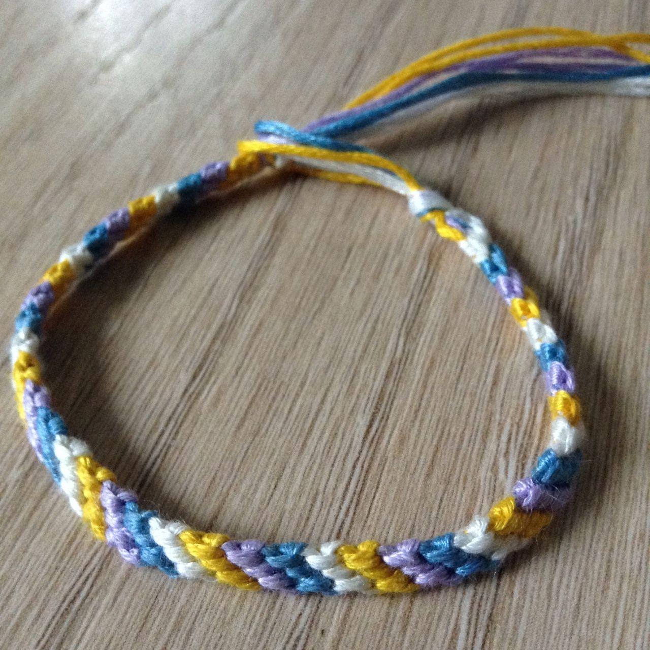 4ed6f746a Listed on Depop by marlarbracelets | MarlarBracelets | Purple, Blue ...