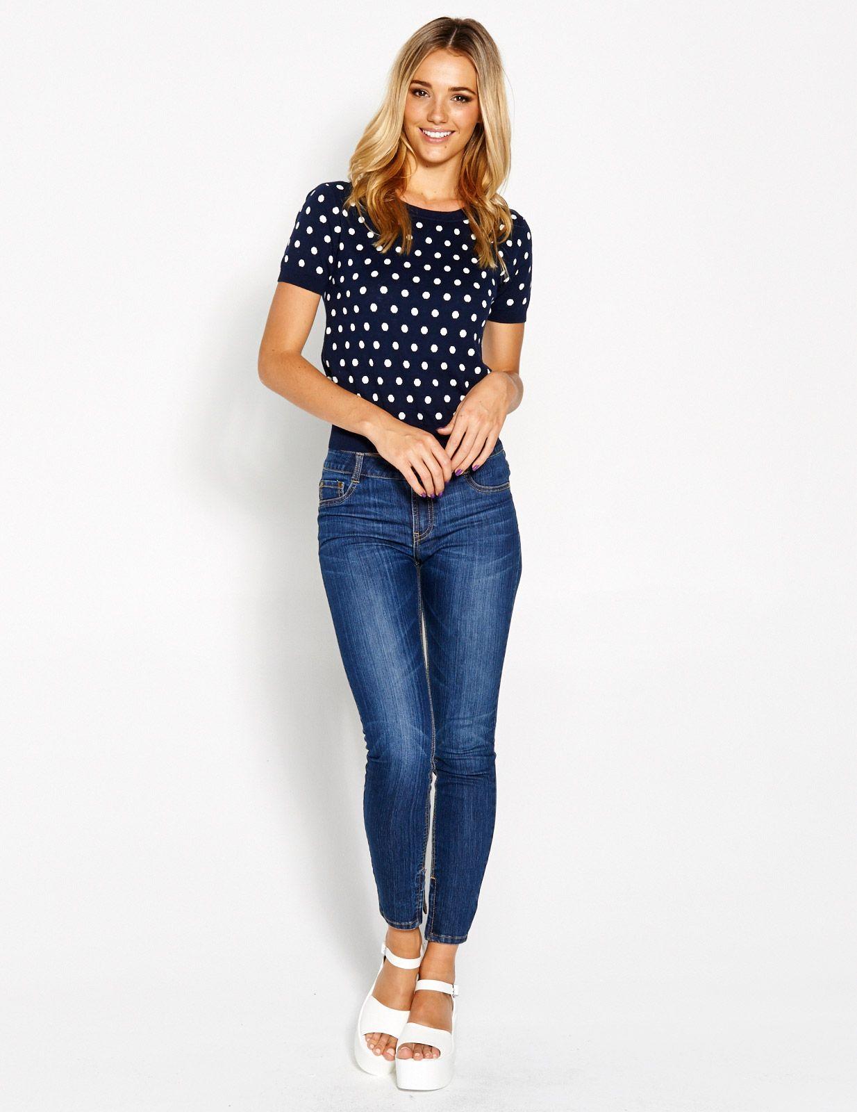 Du Wop Spot Jumper | Dotti | Clothes | Pinterest
