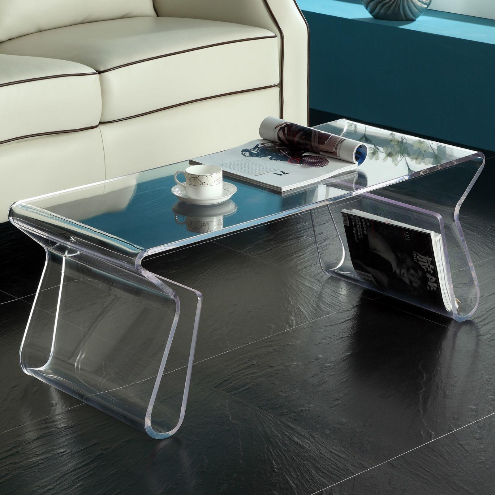 Clear Plastic Sofa Table Acrylic Coffee Table Clear Coffee Table Coffee Table With Shelf [ 1600 x 1600 Pixel ]