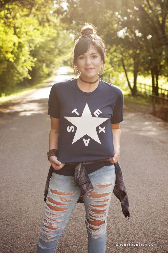 42e2ebb0 Texas Star - Women's T-Shirt | Products | T shirts for women, Texas ...