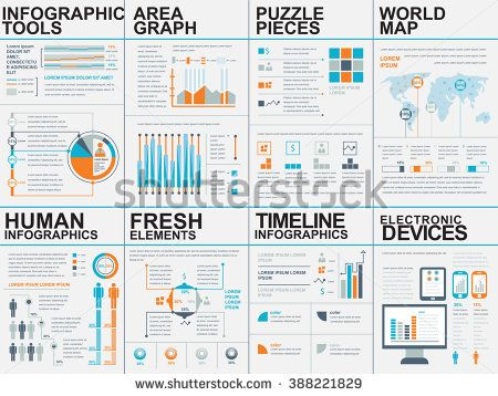 stock-vector-collection-of-flat-infographic-vector-design-template - business roadmap template
