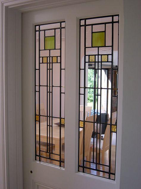 Art Deco Leaded Glass Door Panels Art Deco Glass Art Deco Interior Leaded Glass Door