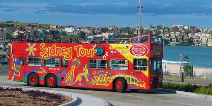 Hop On Hop Off Tour Bondi Beach Sydney Australia