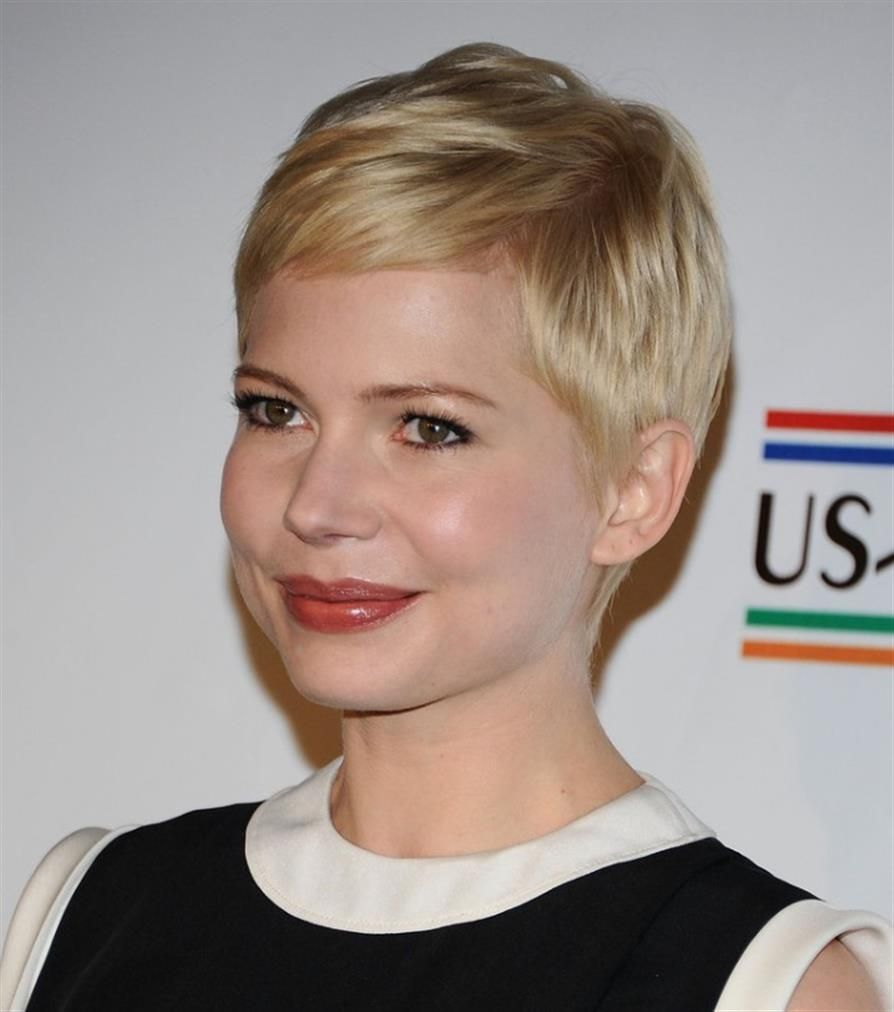Super Short Pixie Haircuts For Round Faces Best Short Hair Styles