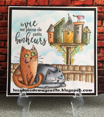 katzelkraft..again! by Magouille - Cards and Paper Crafts at Splitcoaststampers