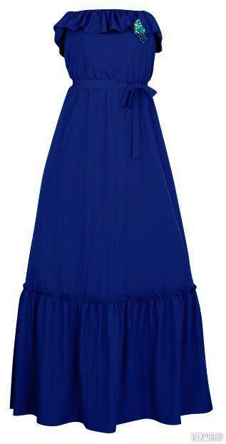 fb6987712eb6 http   chel.lookmart.ru products sineye plate sarafan 149334 Summer Dresses