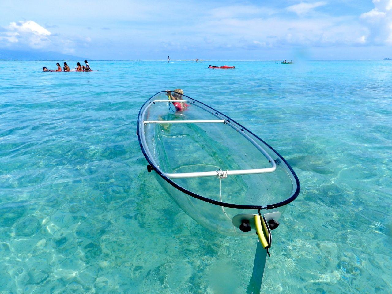 Ride In A Transparent Kayak Kayaking Canoe And Kayak Kayaking