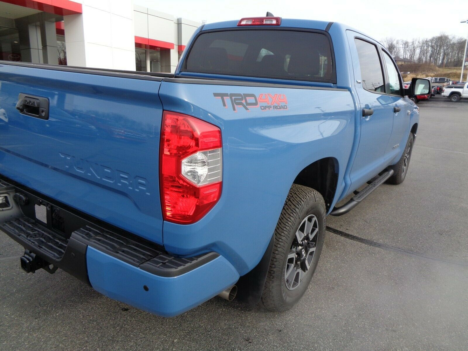 Toyota Christmas Deals Used 2020 Used 2020 Toyota Tundra 2020 Tundra Crewmax TRD Off Road 4WD Blue