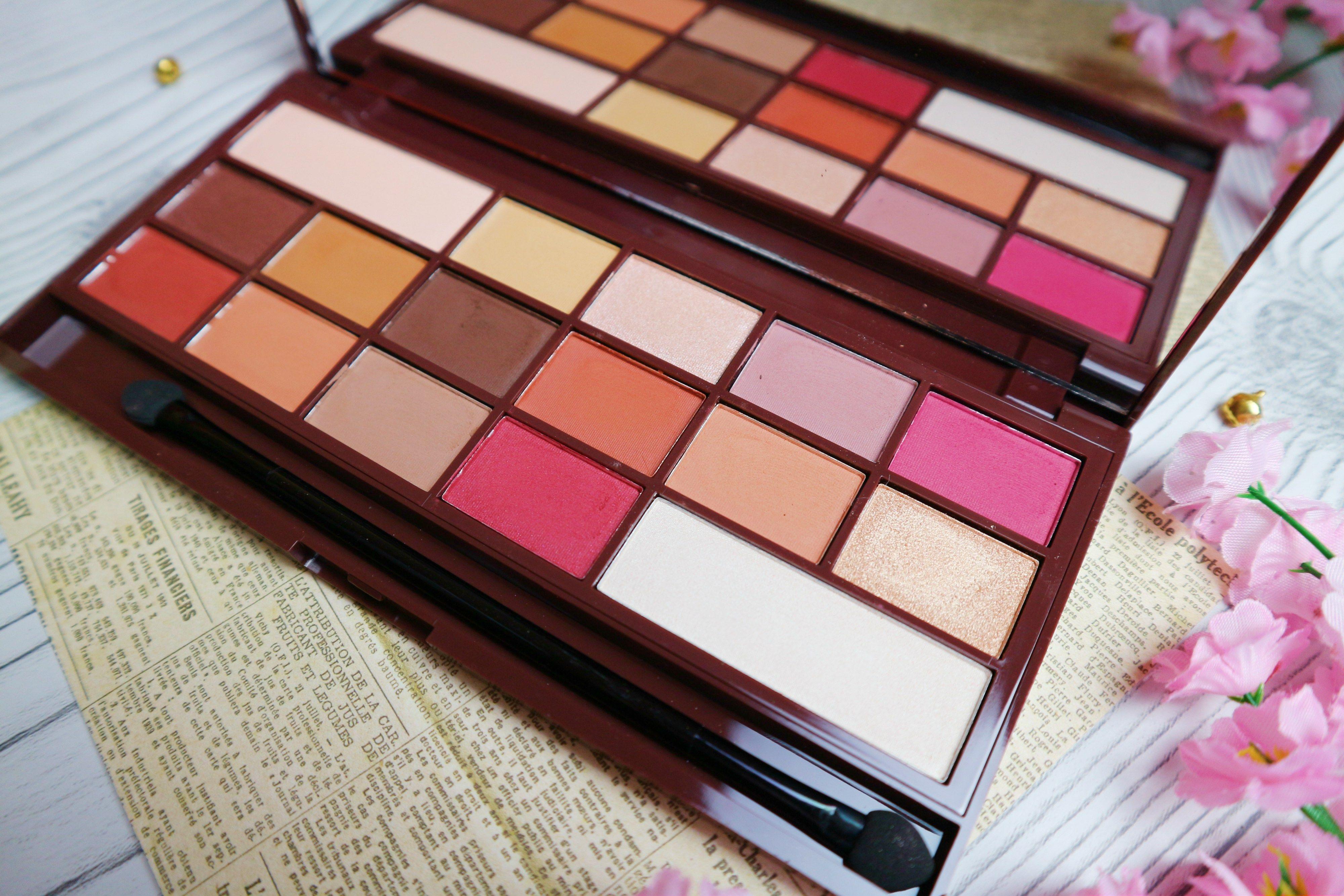 Makeup Revolution Chocolate Elixir Eyeshadow Palette