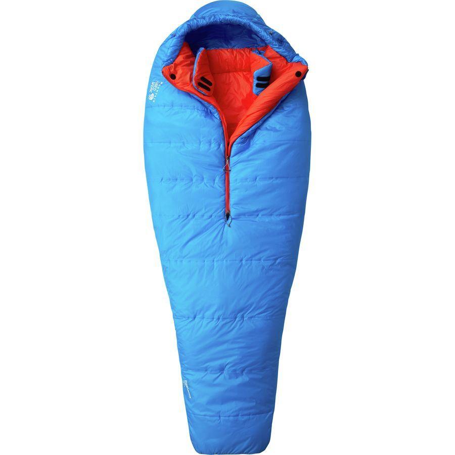 Mountain Hardwear Hyperlamina Flame Sleeping Bag: 20 Degree SyntheticHyper Blue