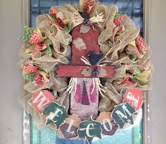 Hey, I found this really awesome Etsy listing at http://www.etsy.com/listing/158406940/scarecrow-burlap-and-chevron-ribbon-fall