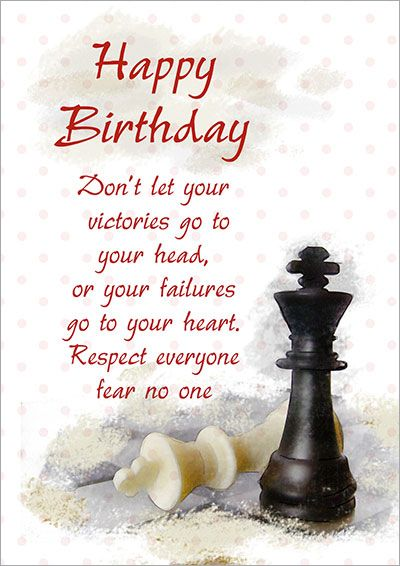 Chess Happy Birthday 002