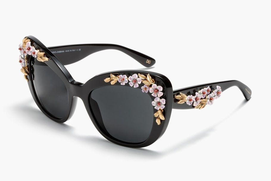 Dolce and Gabbana Flower Sunglasses
