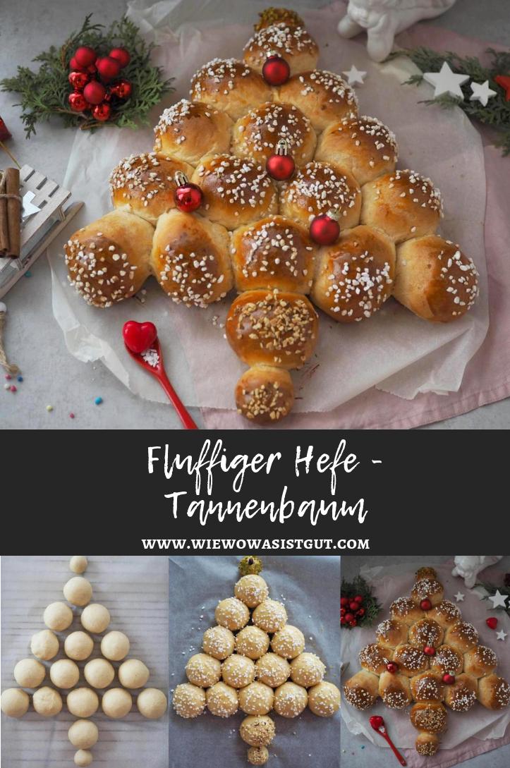 Für´s Weihnachtsfrühstück: Fluffiger Hefe–Tannenbaum - Food