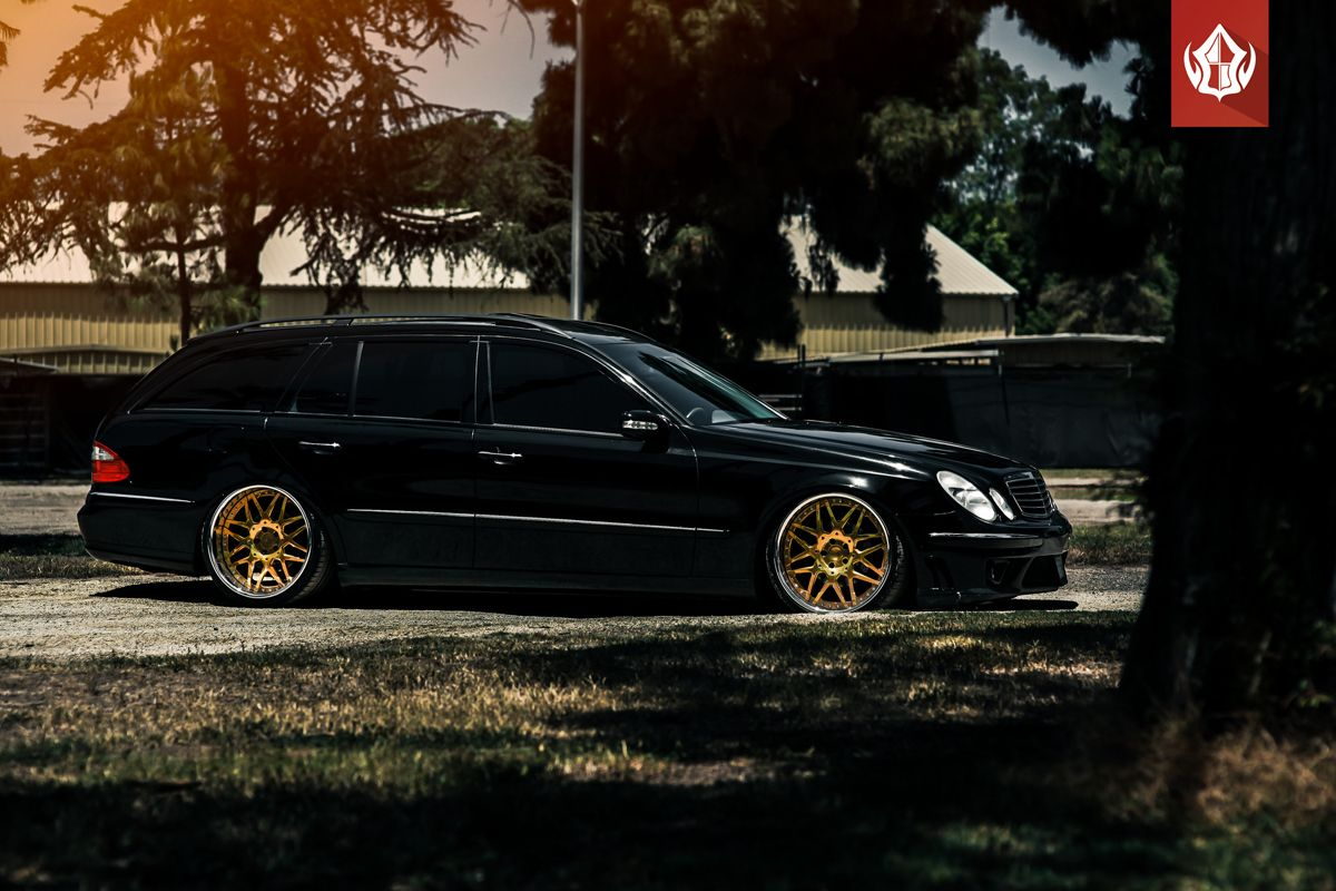 Featured Fitment Mercedes Benz E350 Estate W Vip Modular Vr13