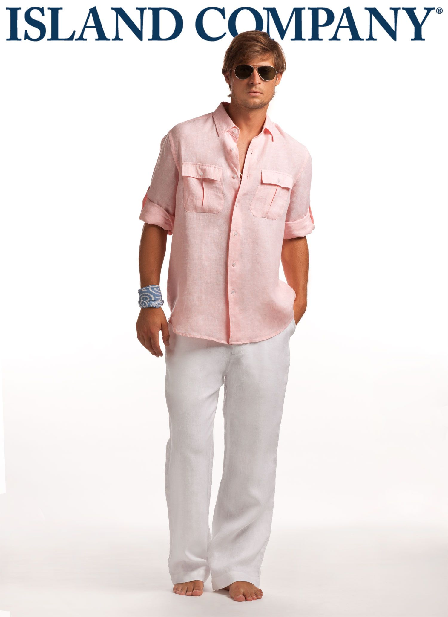 2db26ca9dc5f men s pilot shirt and linen pants...don t forget the sunglasses ...